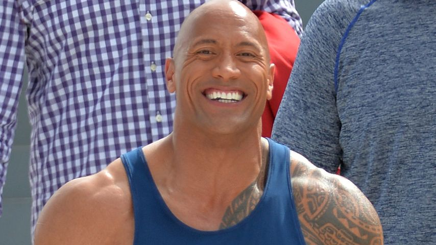 "Dwayne ""The Rock"" Johnson beim Dreh zu ""Baywatch"""