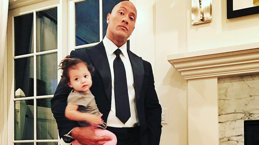 "Sorge um Tochter Jasmine (2): ""The Rock"" wählte Notruf!"
