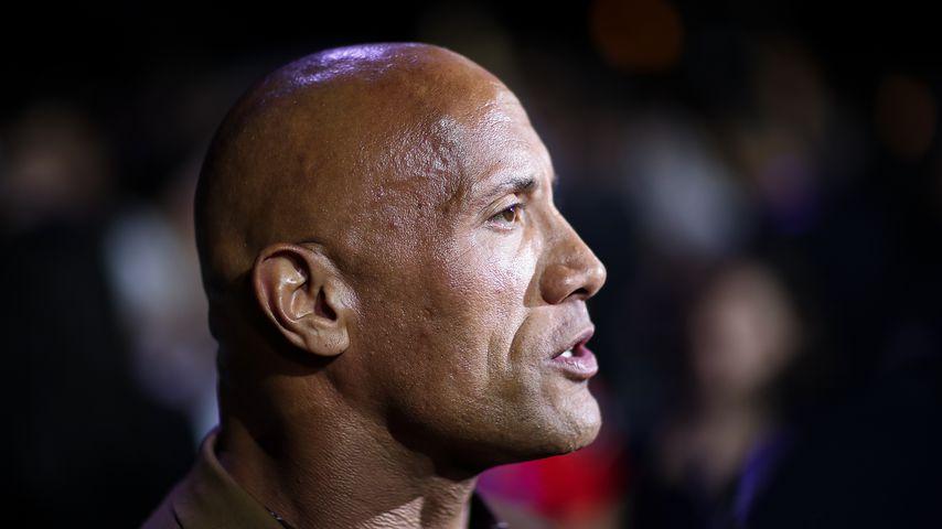 """Dwayne """"The Rock"""" Johnson im August 2019 in Peking"""