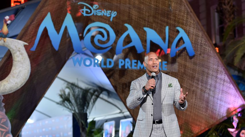 "Dwayne ""The Rock"" Johnson bei der ""Moana""-Weltpremiere"