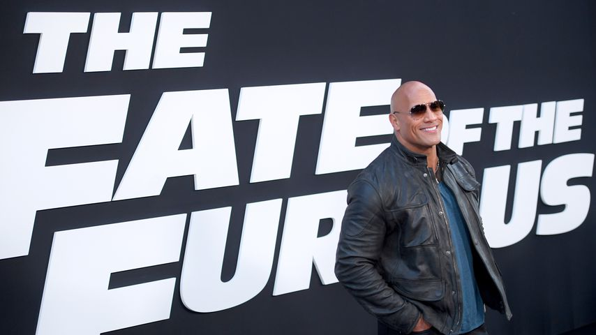"Dwayne ""The Rock"" Johnson bei der ""The Fate Of The Furious""-Premiere"