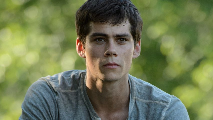 "Dylan O'Brien in ""Maze Runner"""