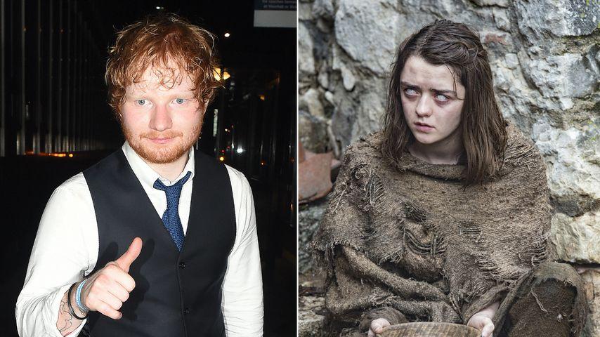 """Ed Sheeran bei """"Game of Thrones"""": Das sorgt jetzt für Stress"""