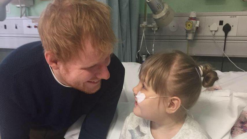 Großes Herz: Ed Sheeran erfüllt krankem Mädchen Lebenstraum!