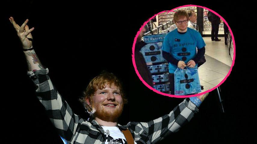 Zehnfach Platin in UK: Hier kauft Ed Sheeran seine eigene CD