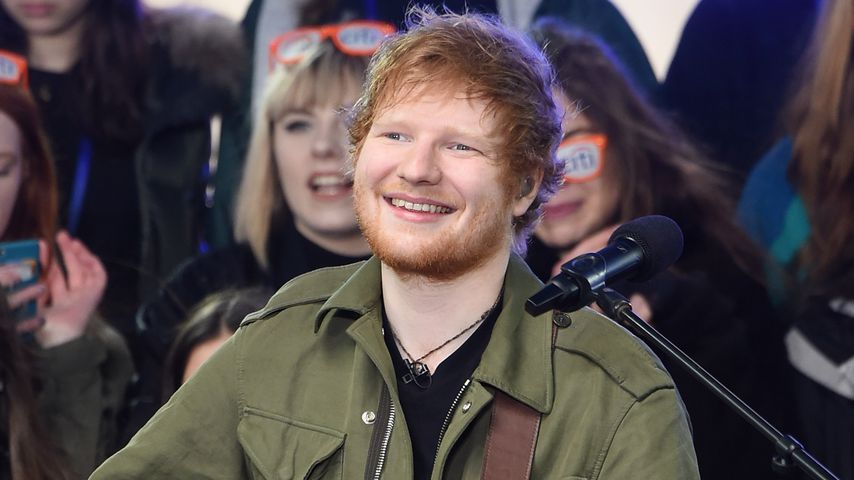 Ed Sheeran in New York, März 2017