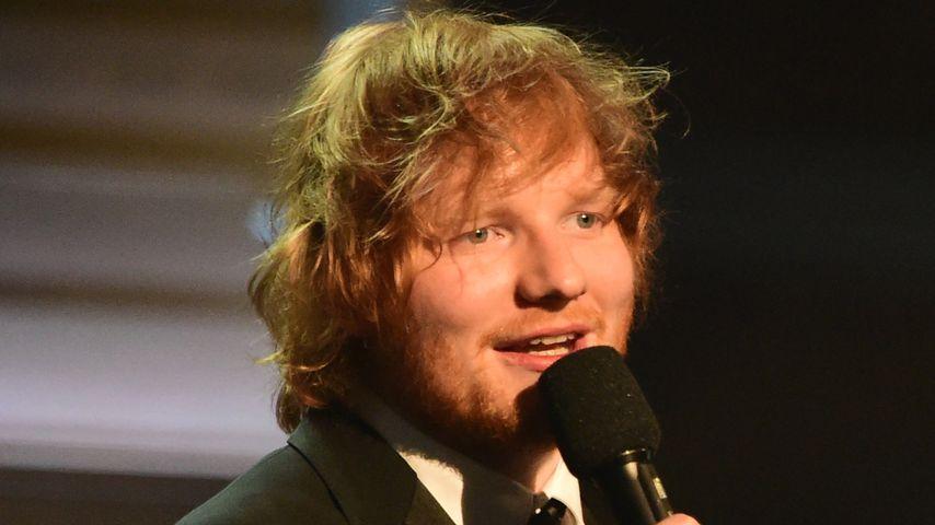 Ed Sheeran bei den Grammy Music Awards in Los Angeles 2016