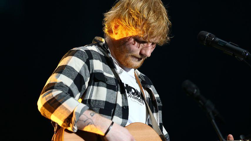 Ed Sheeran bei einem Auftritt im März 2018