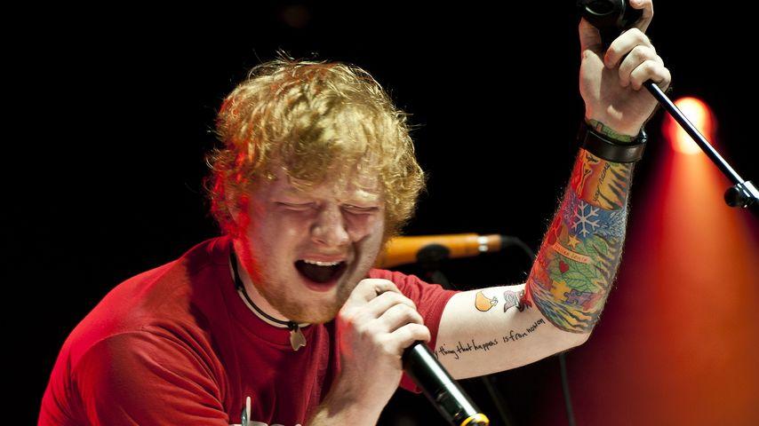 Ed Sheeran bekommt prominente Karriere-Tipps