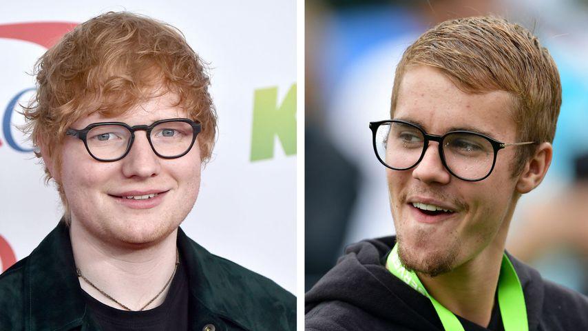 Mit neuem Song: Justin Bieber & Ed Sheeran brechen Rekord