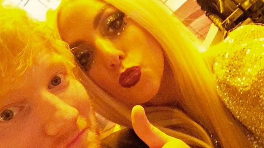 Ed Sheeran und Lady GaGa