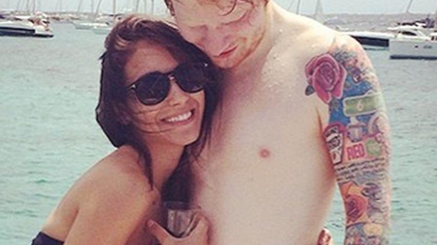 1. Liebes-Foto: Ed Sheeran zeigt seine Freundin