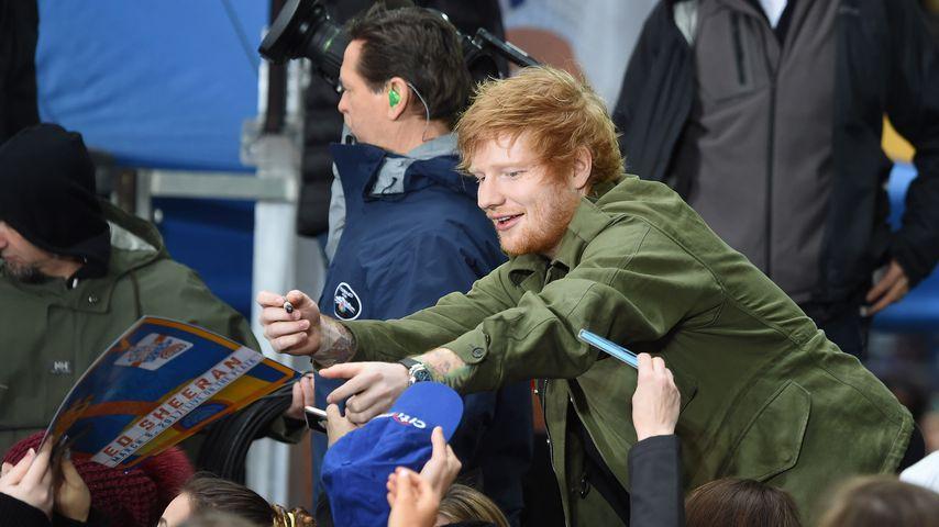 Ed Sheeran bei einem NBC-Auftritt in New York