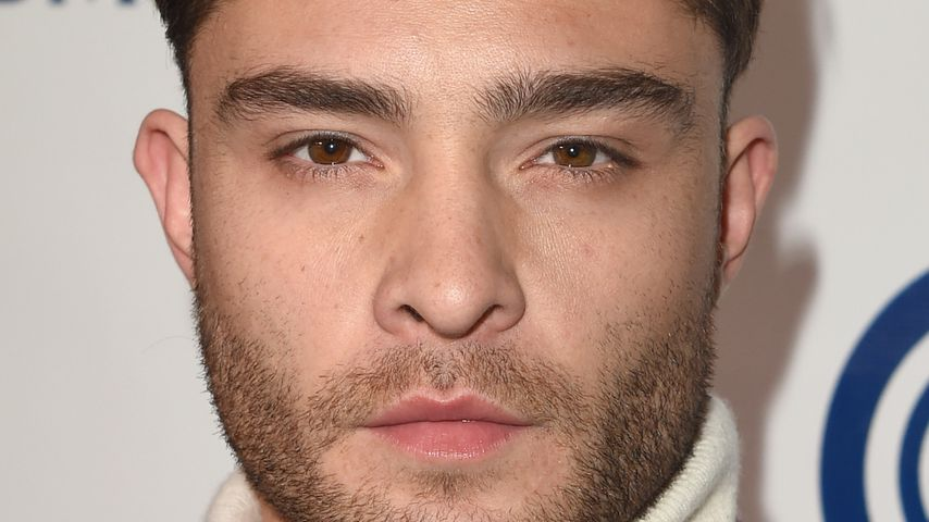 Trotz No-Go-Outfit: Sexy Muskel-Show bei Ed Westwick