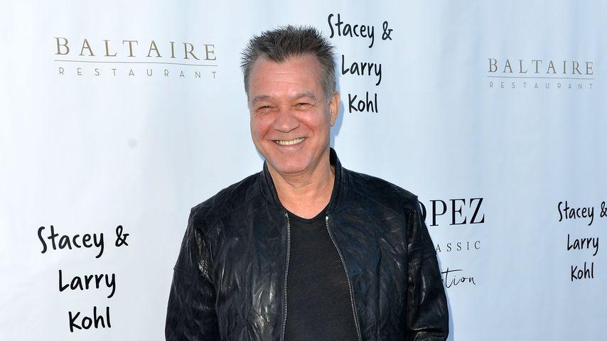 Eddie Van Halen in Los Angeles, April 2017