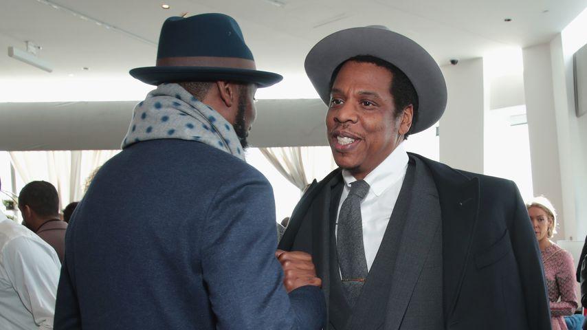 Edi Gathegi und Jay-Z bei Roc Nation The Brunch 2018