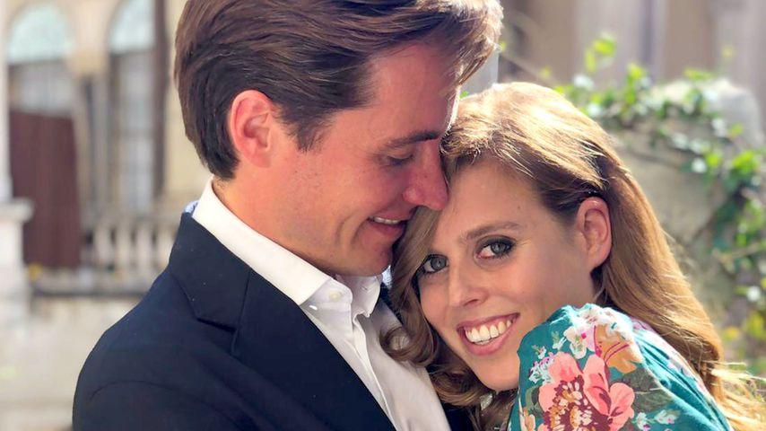 Edoardo Mapelli Mozzi und seine Verlobte, Prinzessin Beatrice im September 2019