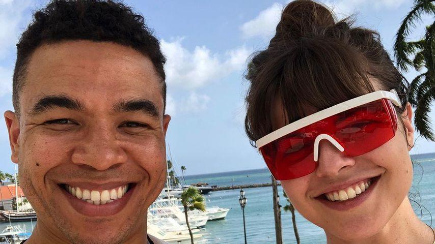 Edward Aschoff mit seiner Verlobten Katy Berteau