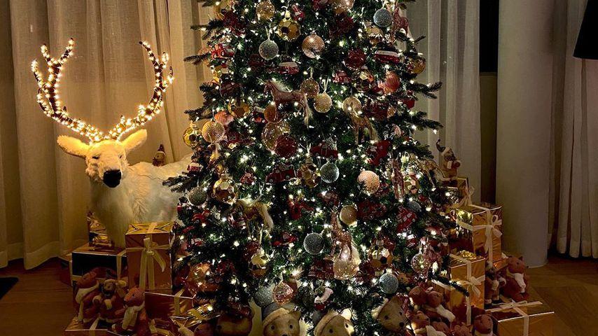 Der Weihnachtsbaum von Chiara Ferragni und ihrer Familie 2019
