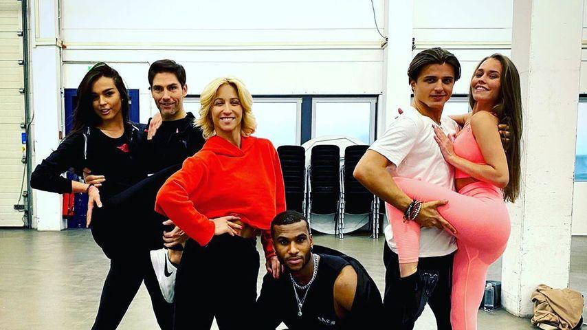 """Ein Teil des """"Let's Dance""""-Casts 2020"""