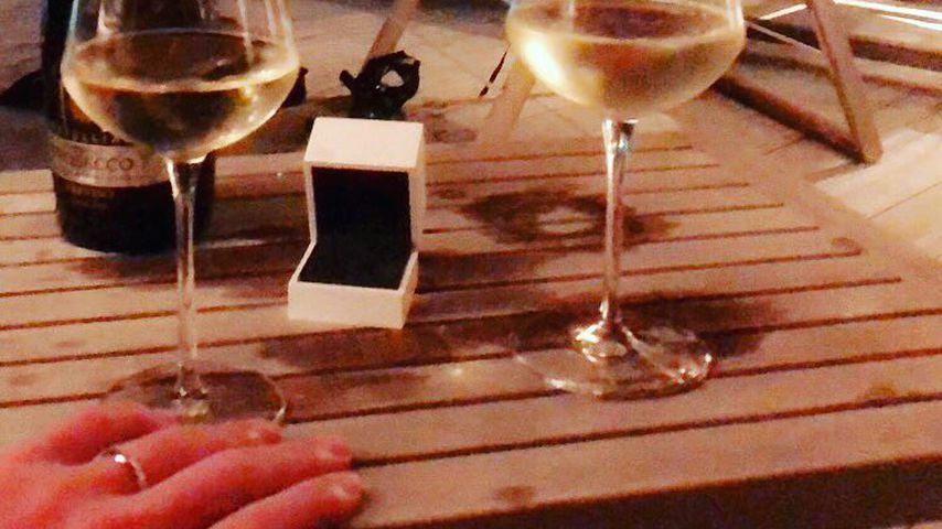 Die Verlobung von Mark Feehily und seinem Partner, Februar 2019