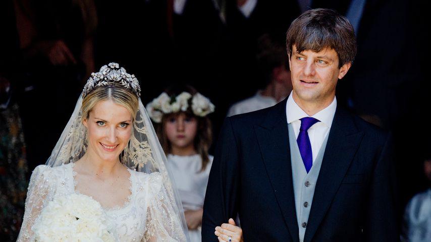 Ekaterina Malysheva und Ernst August von Hannover bei ihrer Hochzeit, 2017