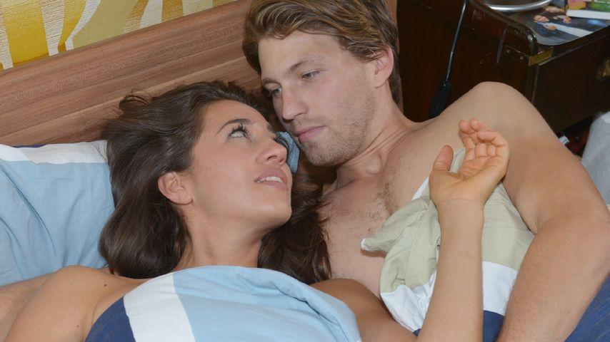 Elena (Elena Garcia Gerlach) und Dominik (Raul Richter) bei GZSZ