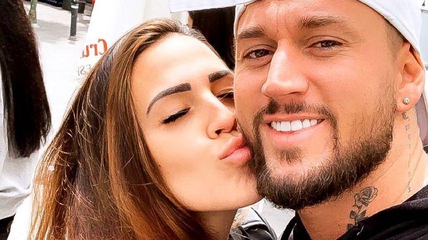 Elena Miras und Mike Heiter, April 2019