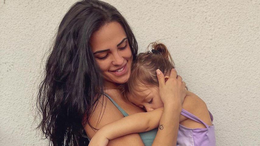 Elena Miras mit ihrer Tochter Aylen