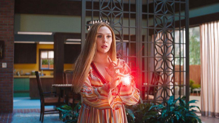 """Elizabeth Olsen als Wanda Maximoff in """"WandaVision"""""""