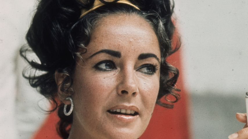 Elizabeth Taylor, um 1975