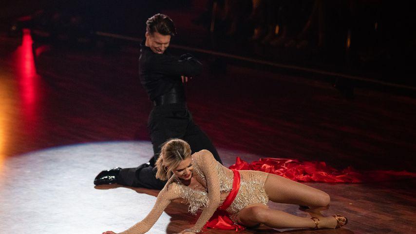 """Schock vor """"Let's Dance""""-Finale: Ella Endlich ist umgeknickt"""