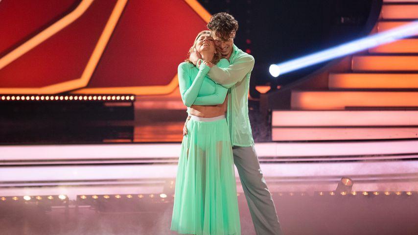 Ella Endlich und Valentin Lusin im Mai 2019