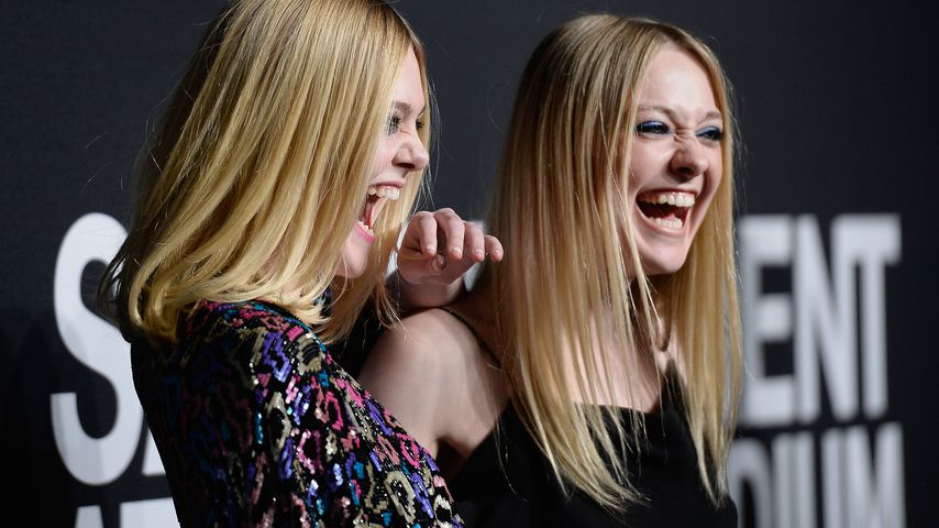Elle und Dakota Fanning bei Saint Laurent Show in Hollywood