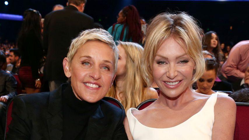 Ellen DeGeneres und Portia de Rossi bei den People's Choice Awards 2016