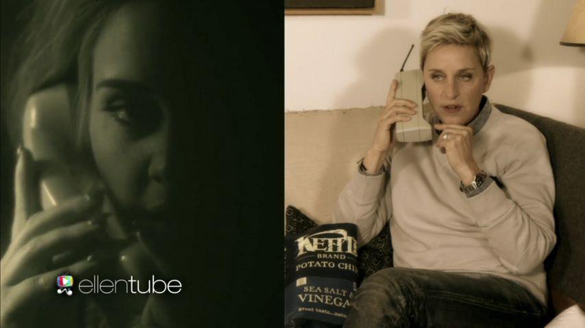 Ellen DeGeneres: Lustige Telefonkonferenz mit Adele & Co.