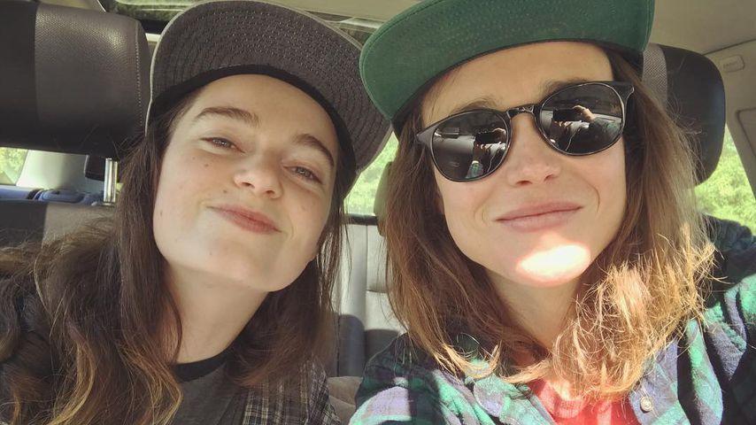 Ellen Page (r.) und ihre neue Freundin Emma Portner