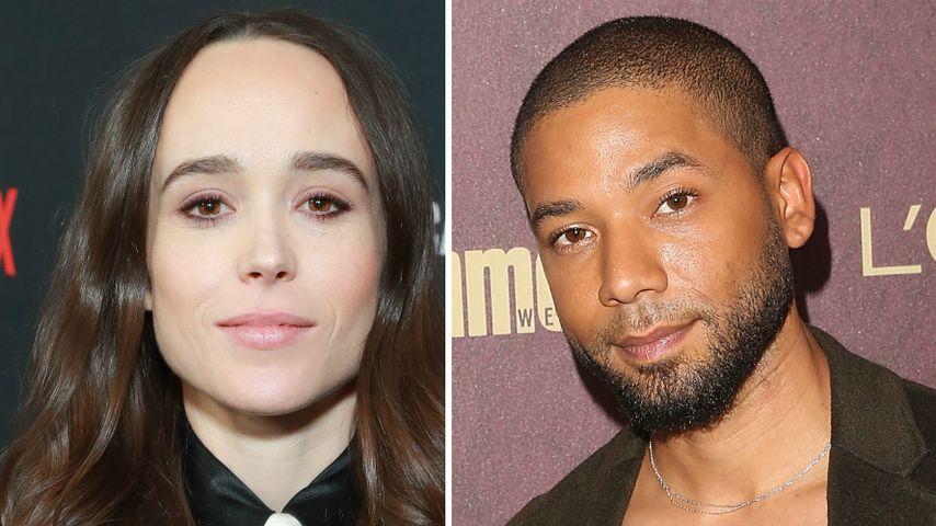 Ellen Page warnt vor den Folgen durch Jussies Fake-Angriff!