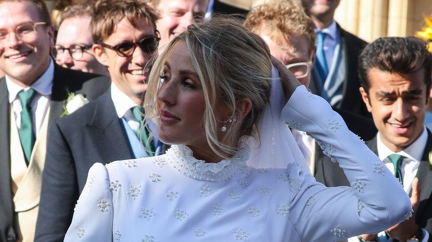 Traum in Weiß? Ellie Gouldings Hochzeits-Look spaltet Fans