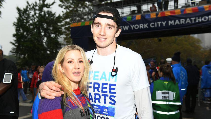 Ellie Goulding mit ihrem Freund Caspar Jopling beim TCS New York City Marathon