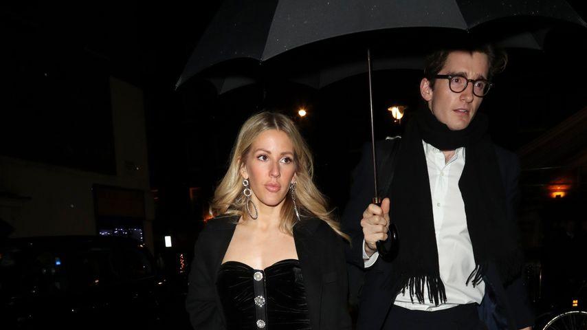 Ellie Goulding und Caspar Jopling auf dem Weg ins Chiltern-Firehouse-Hotel