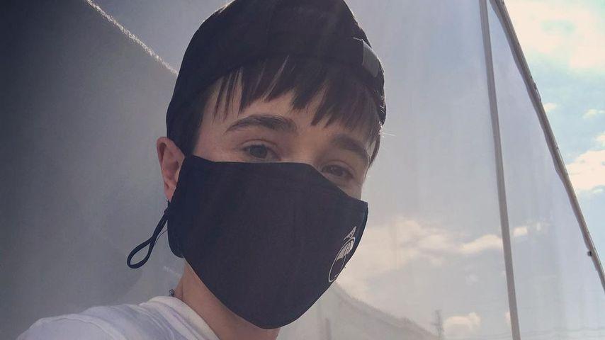 Schauspieler Elliot Page im April 2021