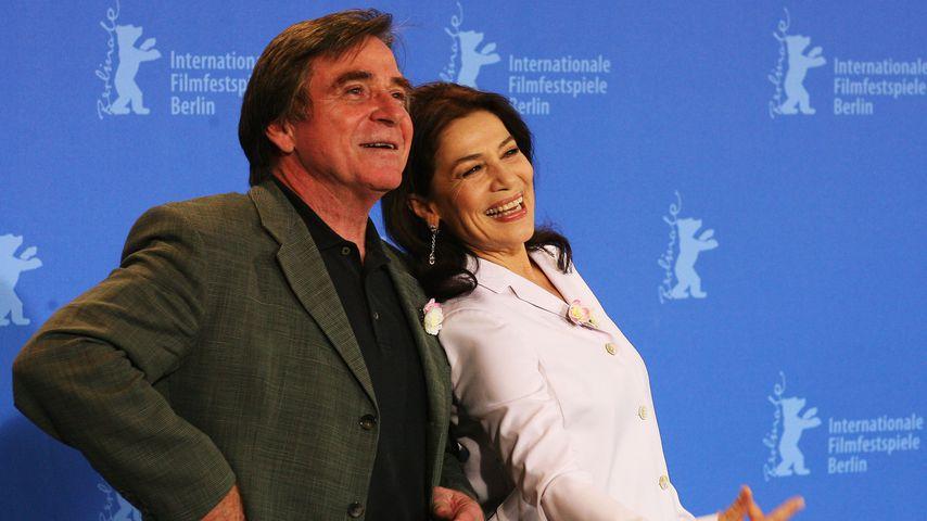 Elmar Wepper und Hannelore Elsner im Februar 2008 in Berlin