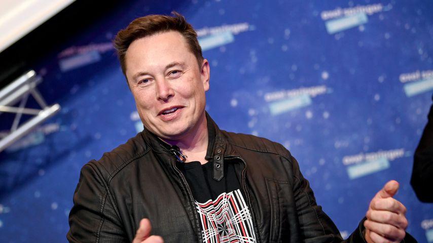 Elon Musk im Dezember 2020 in Berlin