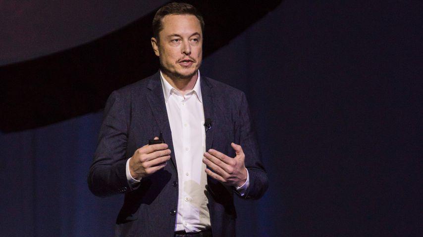 Elon Musk auf einer Konferenz in Guadalajara, Mexico