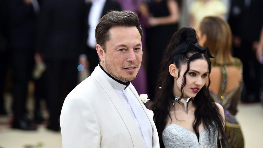 Elon Musk und Grimes bei der MET-Gala 2018