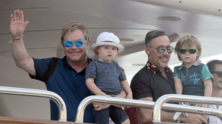 Zum 2. Mal! Elton John & David Furnish heiraten