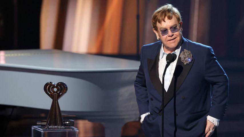 Elton John bei den iHeartRadio-Icon-Awards im Mai 2021