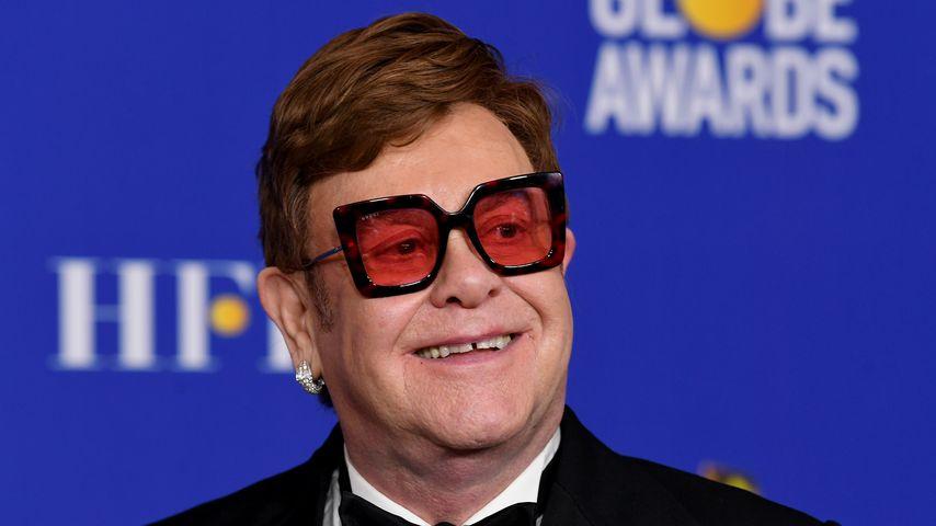 Sänger Elton John im Januar 2020 in Los Angeles