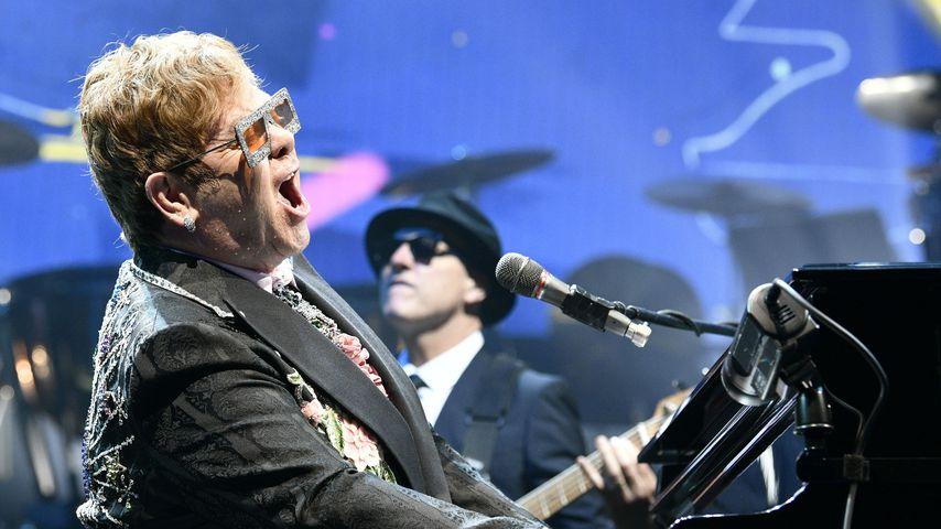 Elton John bei einem Auftritt im Mai 2019